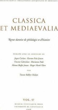 Classica et Mediaevalia: v. 57: Danish Journal of Philology and History