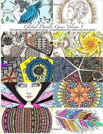 Global Doodle Gems: The Ultimate Coloring Book...an Epic Collection ...