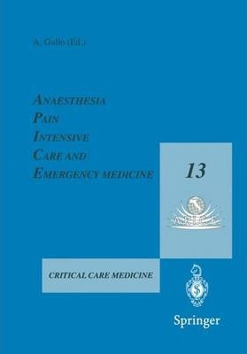 Anaesthesia, Pain, Intensive Care and Emergency Medicine - A.P.I.C.E.