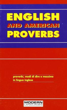 English and american proverbs