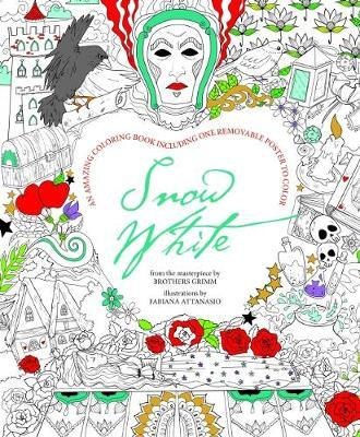 Snow White (Colouring book including Poster)