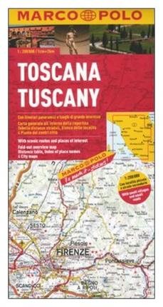 Toscana 1:200.000. Ediz. multilingue