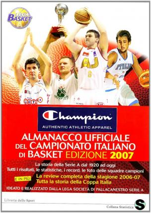 Almanacco ufficiale del campionato italiano di basket