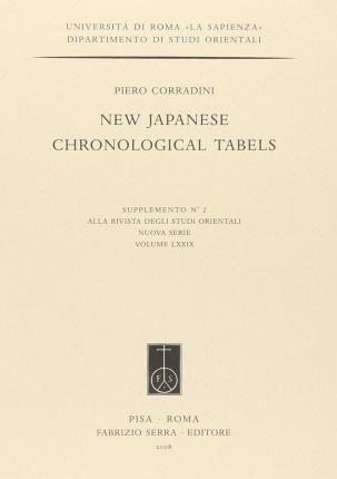 New Japanese Chronological Tabels