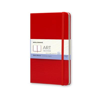 Moleskine Large Sketch Book Red