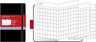 2010 Moleskine Soft Pocket Project Planner Diary