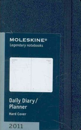 Moleskine Extra Small Daily Planner Hard 12 Month 2011