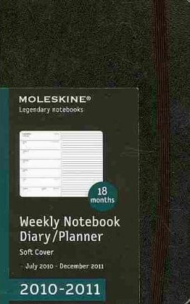 Moleskine Pocket Weekly Notebook 18 Months Soft 2011