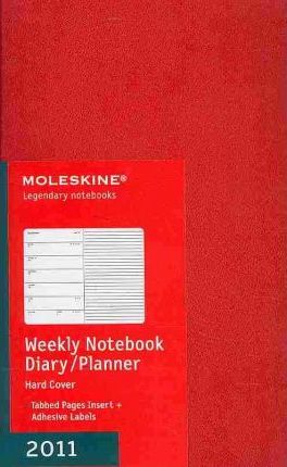 Moleskine Large Weekly Notebook 12 Month Hard 2011