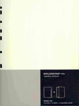 Moleskine Folio Legendary Notebooks: Professional Binder Set