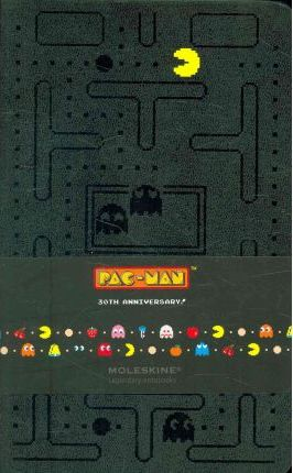Moleskine Pac-Man Large Ruled Notebook