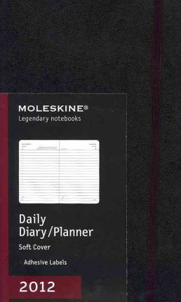2012 Moleskine Large Daily Diary Soft