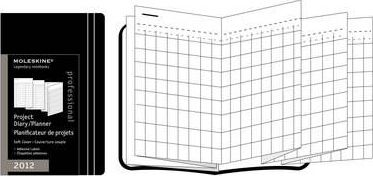 2012 Moleskine Soft Pocket Project Planner Diary