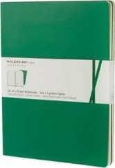 Moleskine Volant Extra Large Ruled Emerald Green & Oxide Green