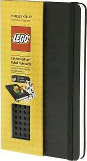 Moleskine Limited Edition Lego Black Brick Ruled Large Notebook