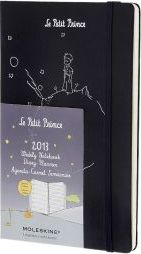 2013 Moleskine Petit Prince Prussian Blue Hard Large Weekly Notebook