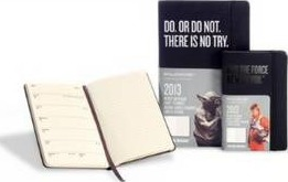 2013 Moleskine Star Wars Limited Edition Large 12 Month Weekly Dairy
