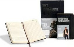 2013 Moleskine Star Wars Limited Edition Pocket 12 Month Daily Dairy