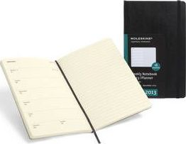 2013 Moleskine Large Weekly Notebook 18 Months Soft
