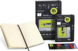Moleskine Hard Audiocassette Limited Edition Plain Notebook Pocket