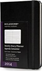 2014 Moleskine Pocket Diary Weekly Horizontal Hard