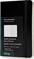 2014 Moleskine Pocket Weekly Notebook 12 Months Soft