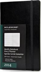 2014 Moleskine Large Weekly Notebook 12 Months Soft