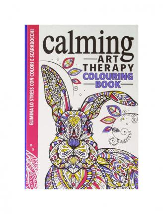 Art therapy. Calming. Colouring book