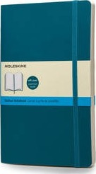 Moleskine Soft Underwater Blue Large Dotted Notebook