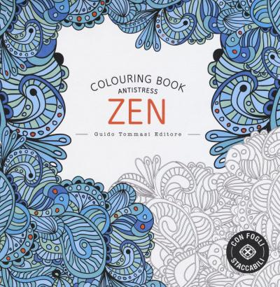 Zen. Colouring book antistress