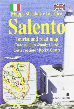 Salento tourist and road map