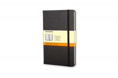 Moleskine Large Ruled Hardcover Notebook Black