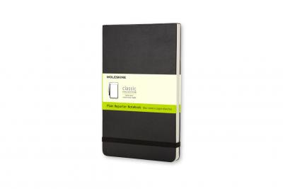 Pocket Reporter Plain Notebook Black