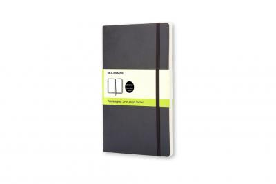 Moleskine Soft Cover Pocket Plain Notebook Black
