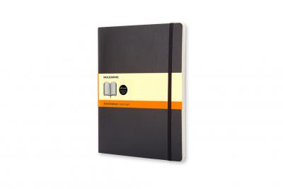 Moleskine Soft Extra Large Ruled Notebook Black