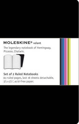 Moleskine Volant Pocket Ruled Black