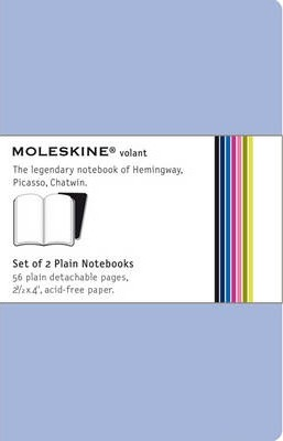 Moleskine Volant Extra Small Plain Antwerp Blue & Prussian Blue 2-set
