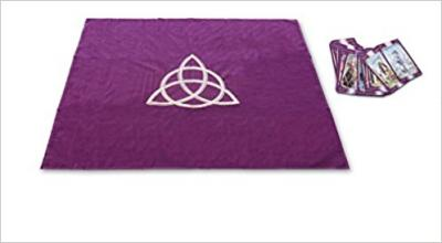 Tarot Cloth Wicca Purple Tp03