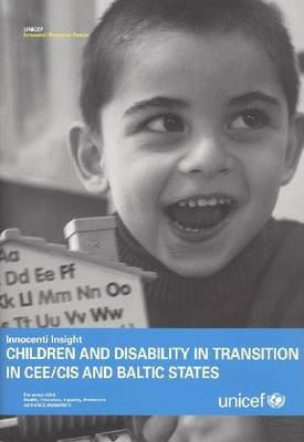 Children and Disability in Transition in Cee Cis and Baltic States