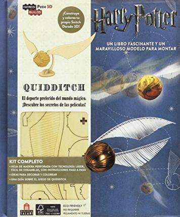 Incredibuilds Harry Potter: Quidditch 3D