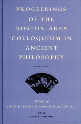 Proceedings of the Boston Area Colloquium in Ancient Philosophy