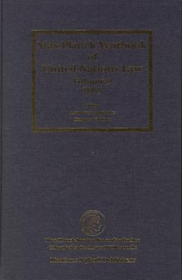 Max Planck Yearbook of United Nations Law, Volume 9 (2005)