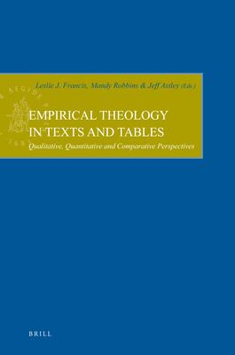 Empirical Theology in Texts and Tables