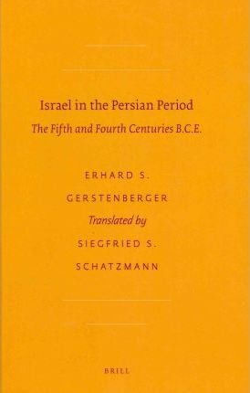Israel in the Persian Period