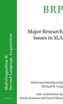 Major research issues in SLA