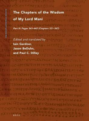 The Chapters of the Wisdom of My Lord Mani
