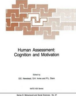 Human Assessment: Cognition and Motivation