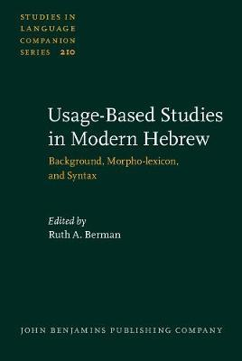 Usage-Based Studies in Modern Hebrew