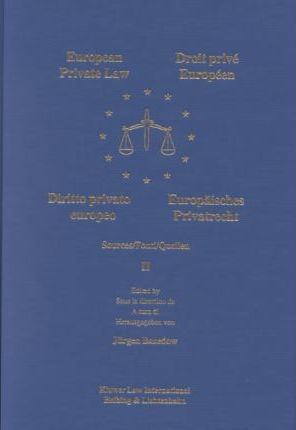 European Private Law, Sources, III
