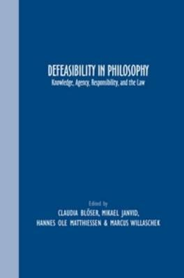 Defeasibility in Philosophy